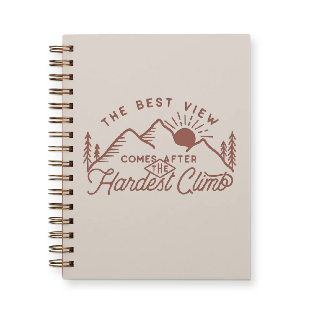 Best View Lined Journal Notebook