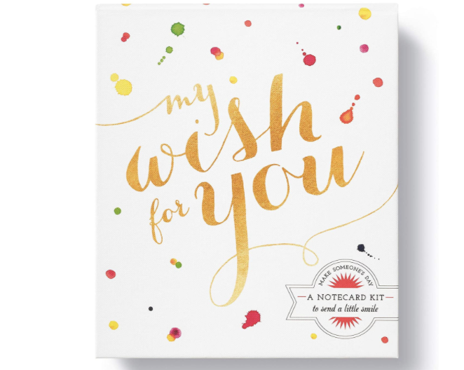 My Wish For You: A Notecard Kit to Send a Little Smile