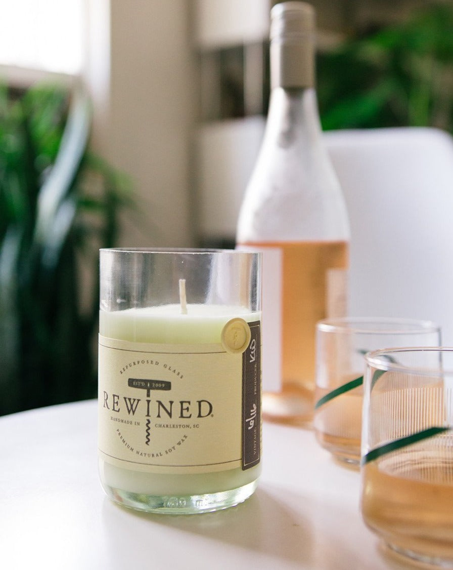 Rosé Blanc Soy Wax Candle