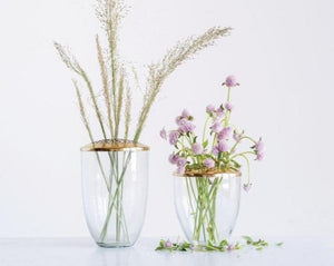 A favorite in store, our flower frog vase adds a special touch to any room while highlighting each stem.