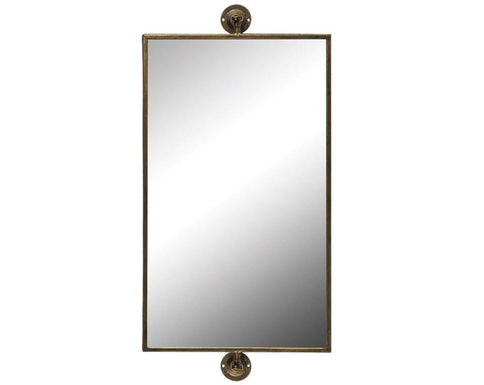 Rectangular Pivot Wall Mirror