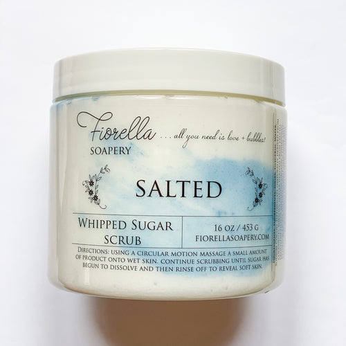 Fiorella Salted Whipped Sugar Scrub