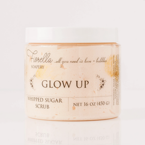 Glow Up Whipped Sugar Scrub