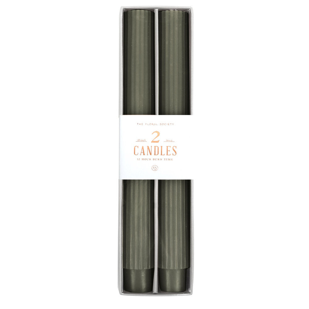 Fancy Taper Candle 10""