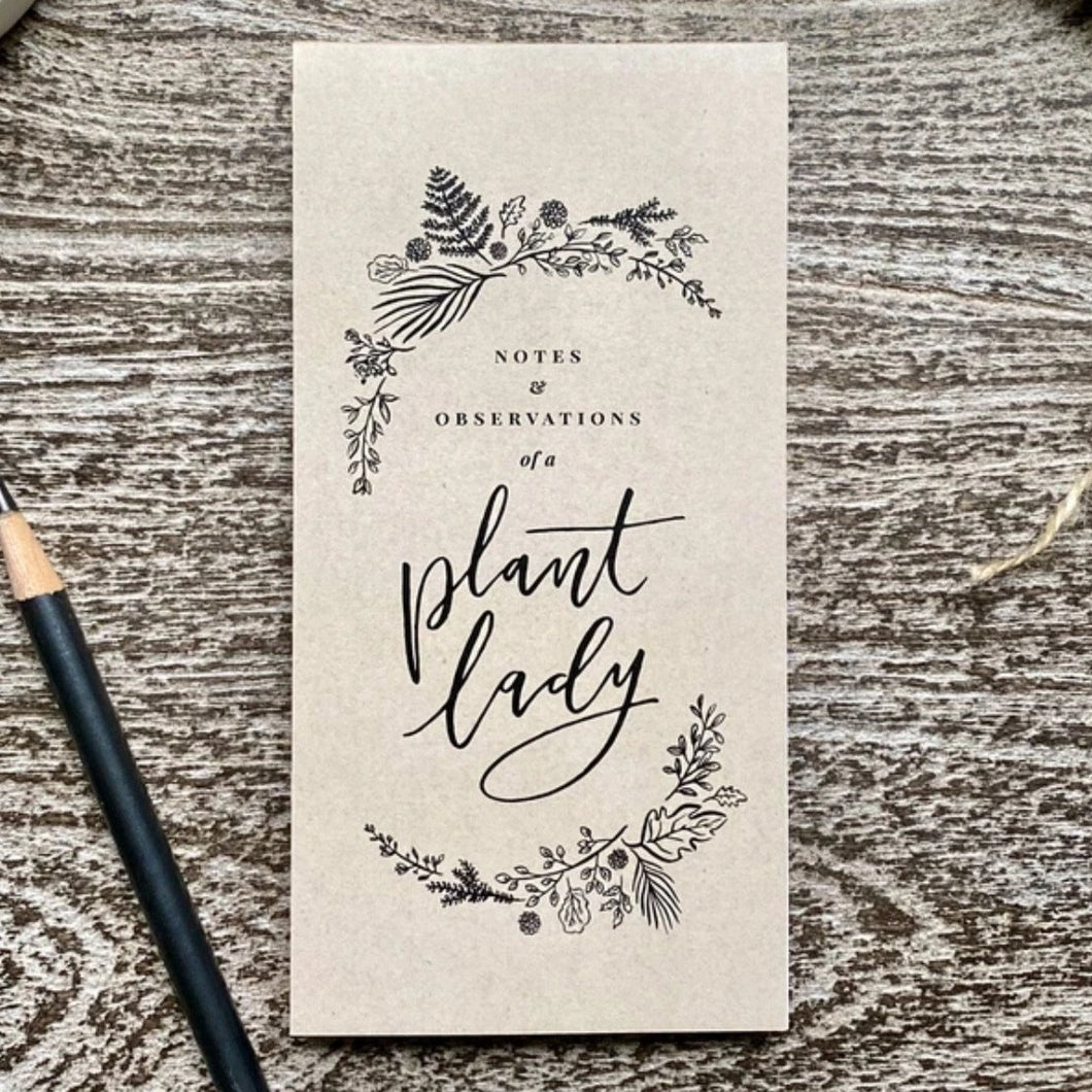 Plant Lady Notebook