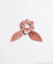 Load image into Gallery viewer, La Vie En Rose Velvet Scrunchie Tie