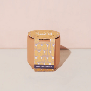 Tiny Terracotta - Lavender Grow Kit by Modern Sprout