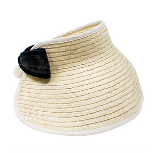 Lucy Palm Sun Hat side view