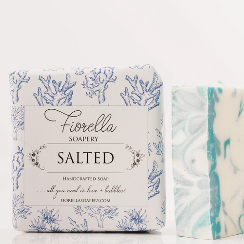 Fiorella Salted Bar Soap