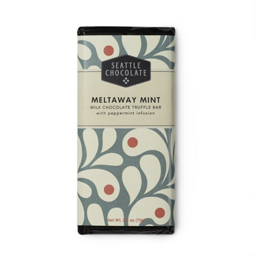 Seattle Chocolate Meltaway Mint Truffle Bar