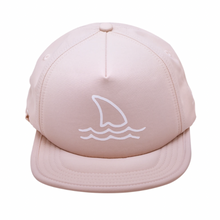 Load image into Gallery viewer, Blush Shark Fin Trucker Sun Hat