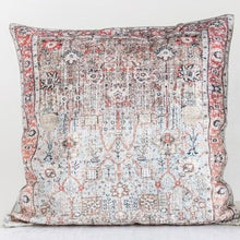"Load image into Gallery viewer, Vintage Distressed 24"" Square Pillow"