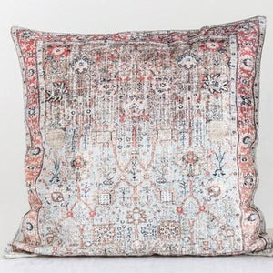 "Vintage Distressed 24"" Square Pillow"