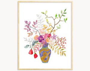 Floral Arrangement Print No.6
