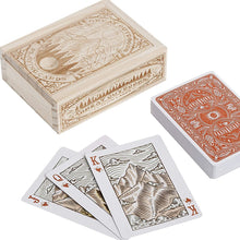 Load image into Gallery viewer, Great Outdoors Playing Cards in Wooden Box