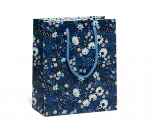 Blue Wild Flower Gift Bag