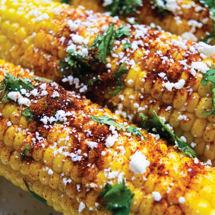 Mexican Street Corn On The Cob (Elote)