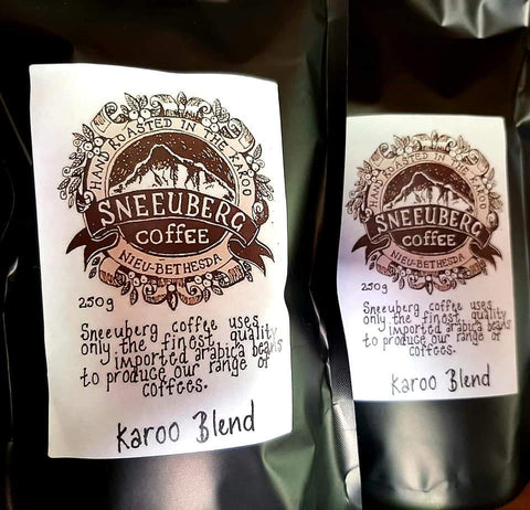 3 x 250g Karoo Blend - Sneeuberg Coffee GROUND