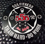 2x2 5-5-5 Fitness Color Sticker