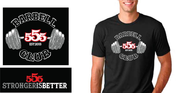 Stronger is Better Triblend Crew Tshirt