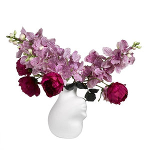 Head upside-down Vase