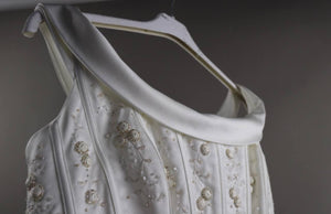 Embroidered corset | 1990's vintage
