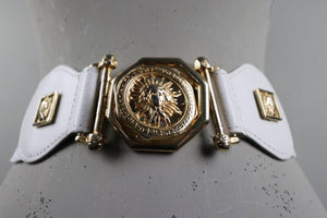 Medusa head vintage belt
