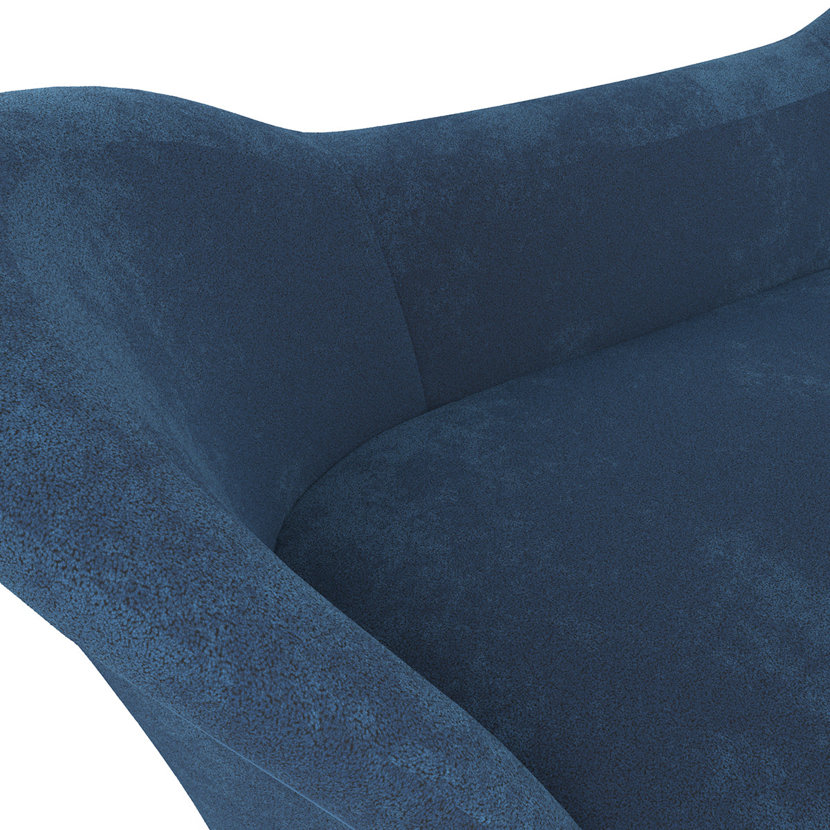 Mandela Blue Wool Sofa