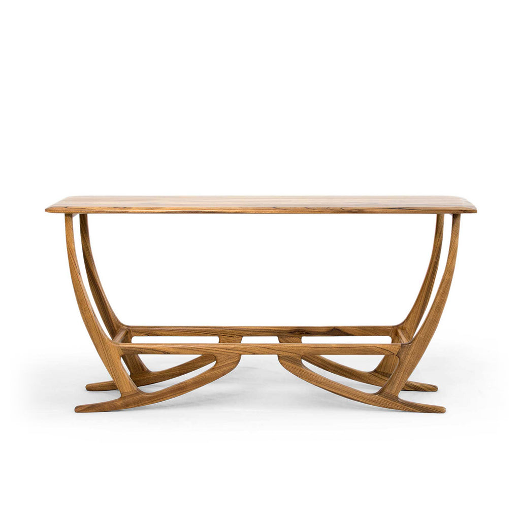 Maxime Walnut Console Table