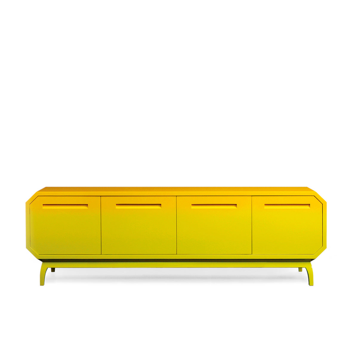 Mirtillo Luxurious Yellow Sideboard