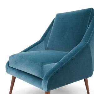 Obama Contemporary Velvet Armchair