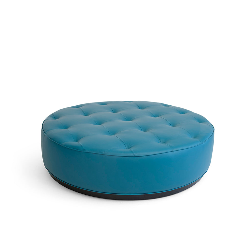 Ocean Large Leather Stool