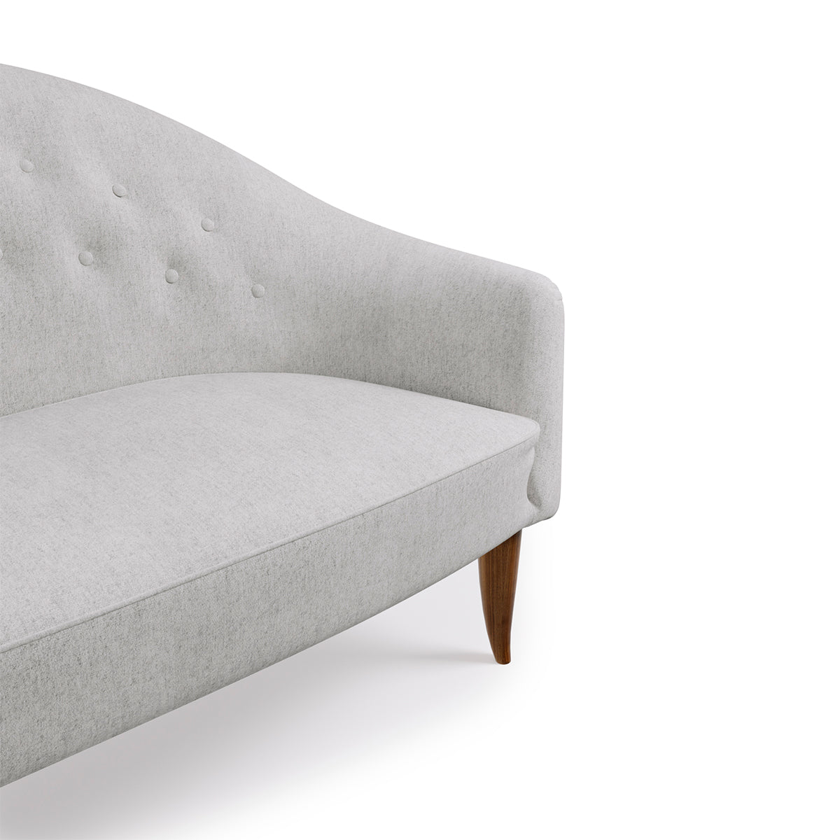 Paradise Wool Buttoned Sofa