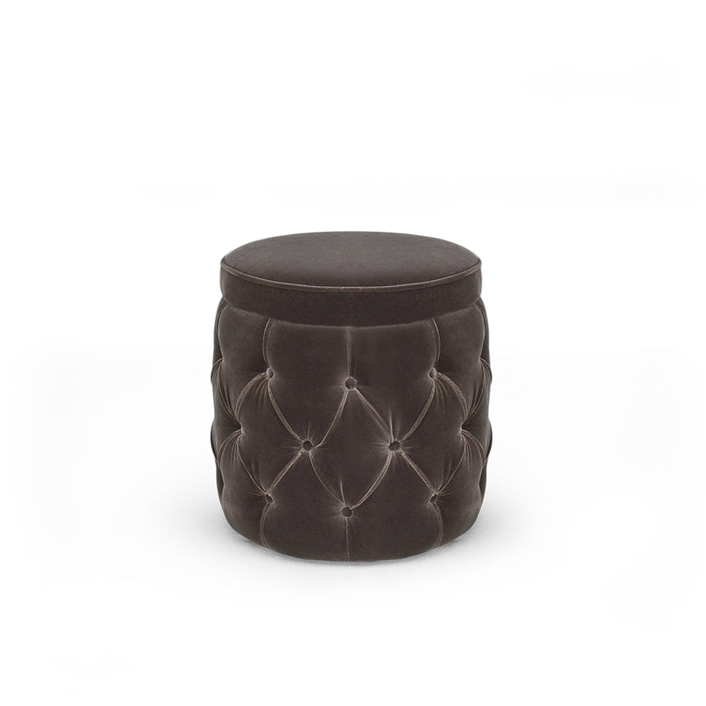 Pineapple Deep Buttoned Stool