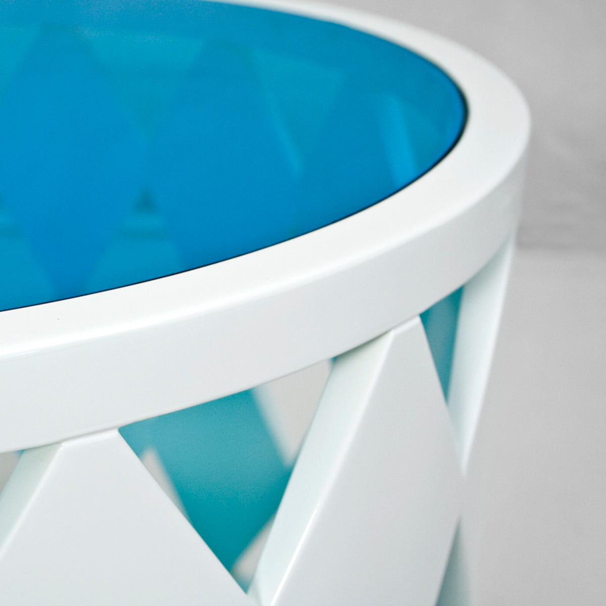 Poppy White Statement Coffee Table