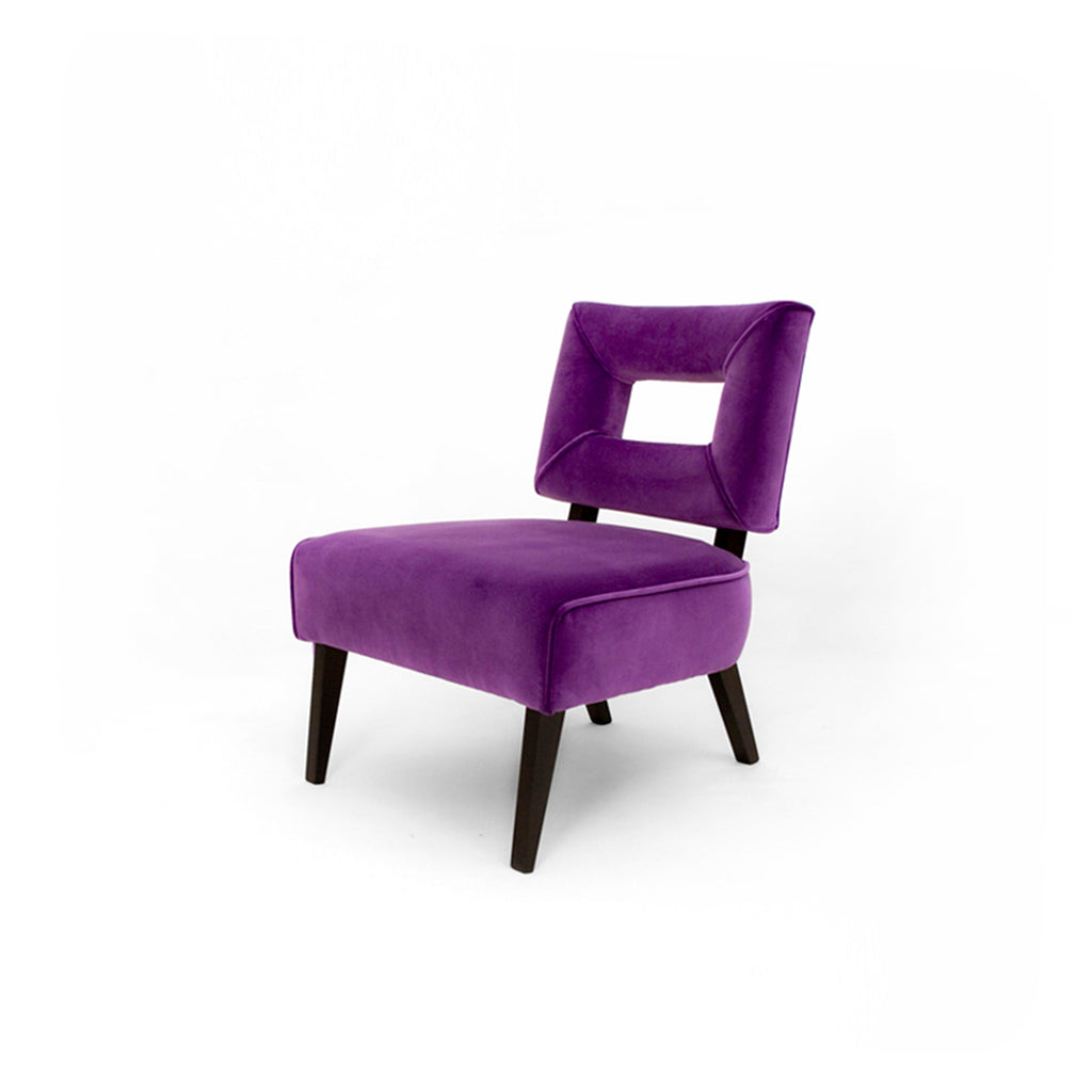 Smith Violet Statement Armchair