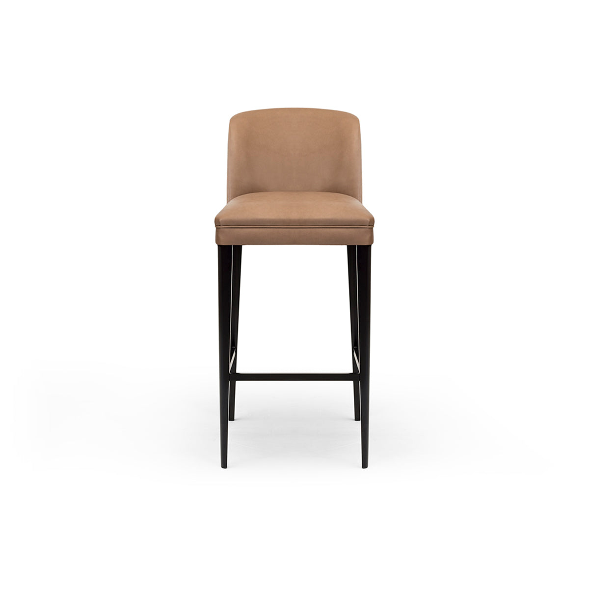 Teatro Camel Leather Bar Stool