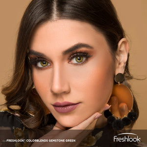 عدسات فريش لوك جيمستون جرين FRESHLOOK GEMSTONE GREEN