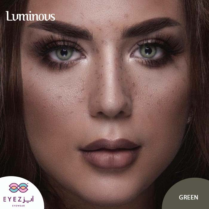 عدسات لومينوس جرين LUMINOUS GREEN