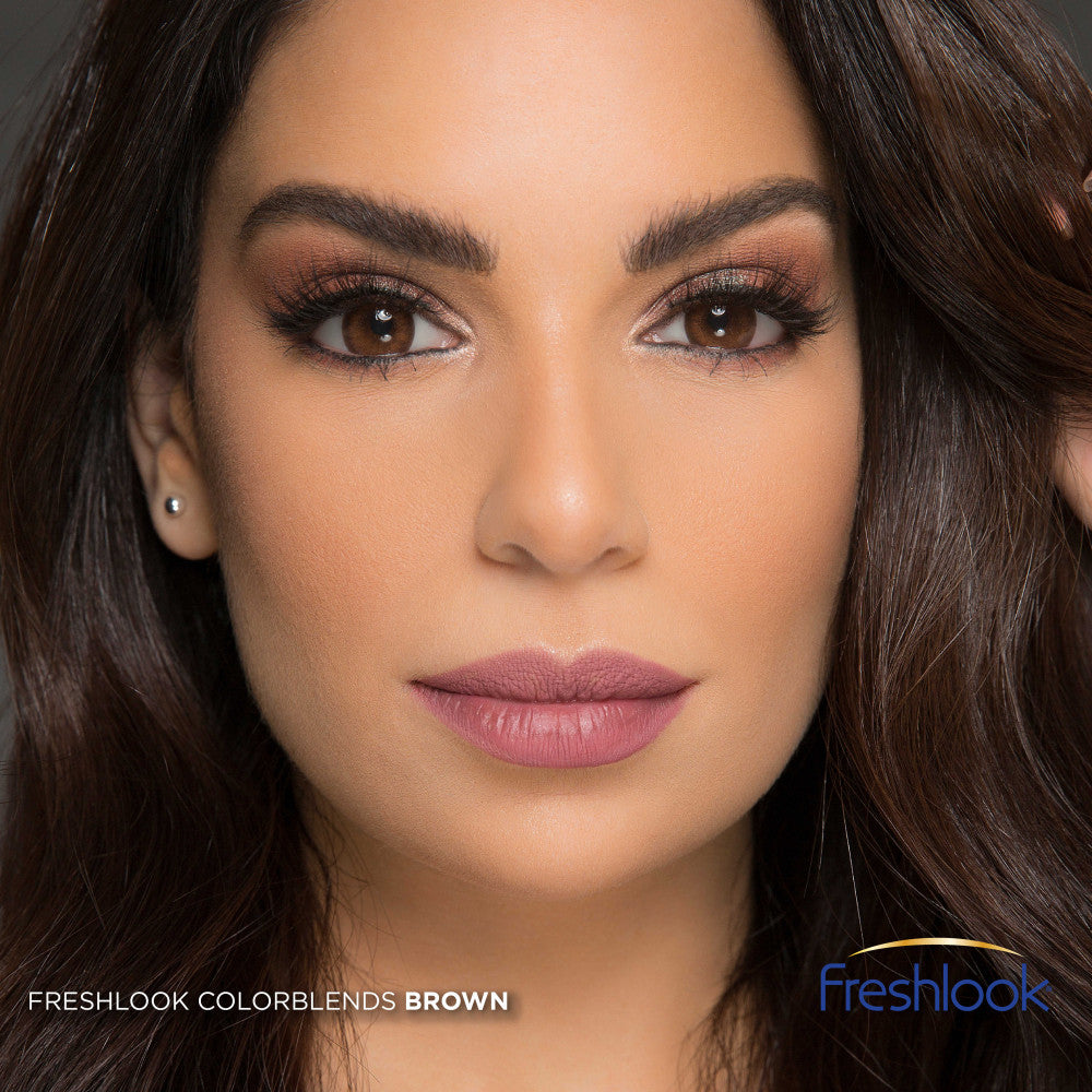 عدسات فريش لوك براون FRESHLOOK BROWN