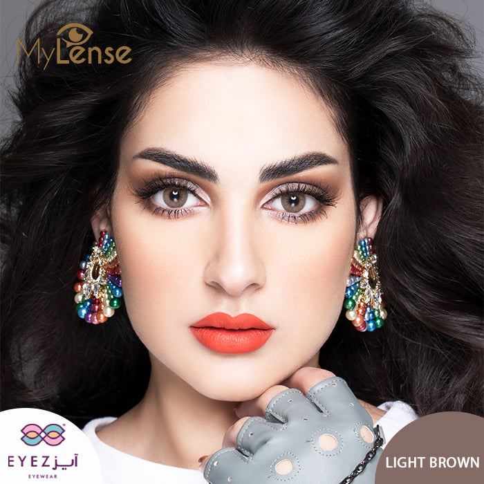 عدسات ماي لنس لايت براون MY LENS LIGHT BROWN