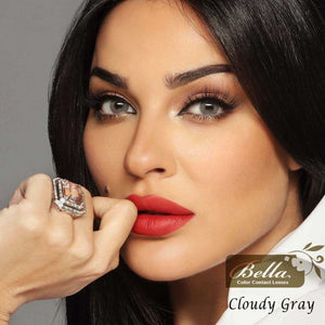 عدسات بيلا كلاودي جراي BELLA ELITE Cloudy Gray
