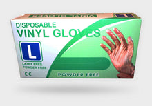 Load image into Gallery viewer, Disposable Vinyl Gloves