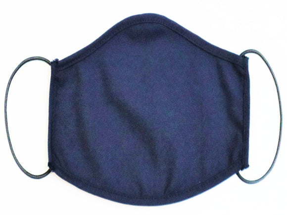 New Navy Face Mask, Pack of 3 Pcs