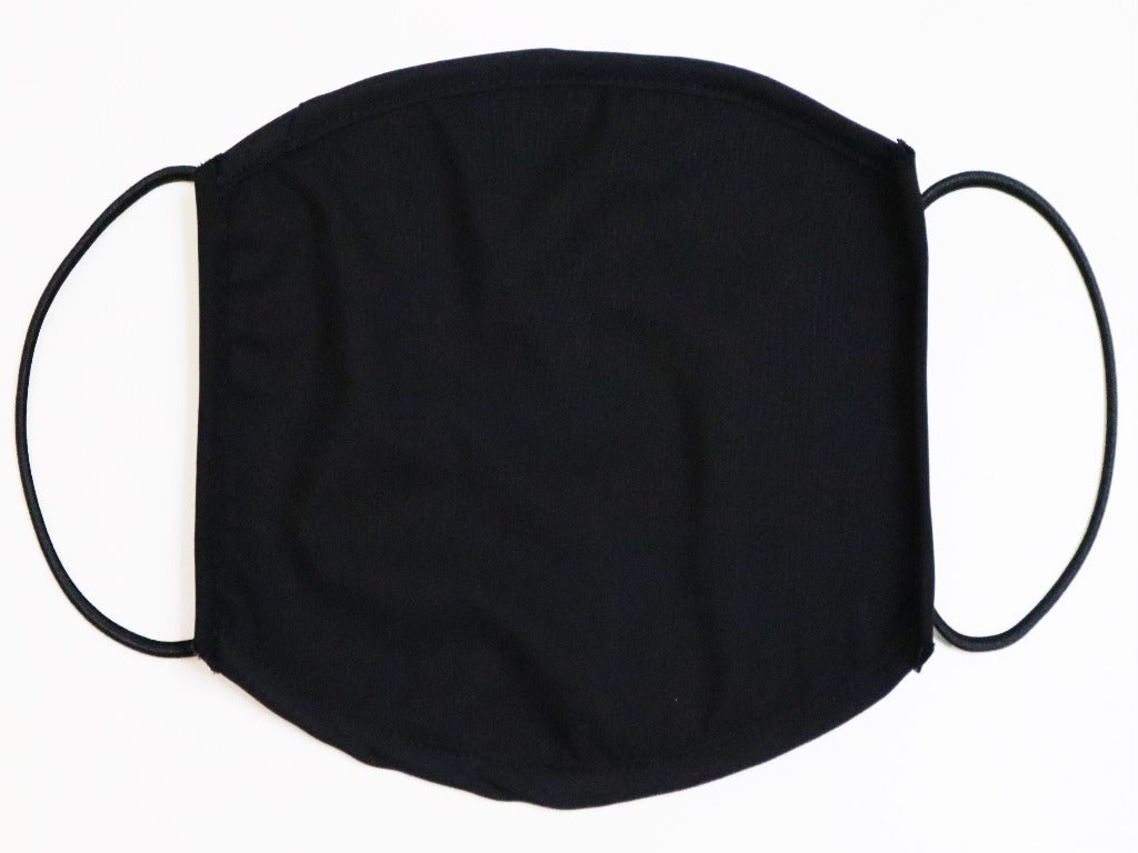New Black Face Mask, Pack of 3 Pcs