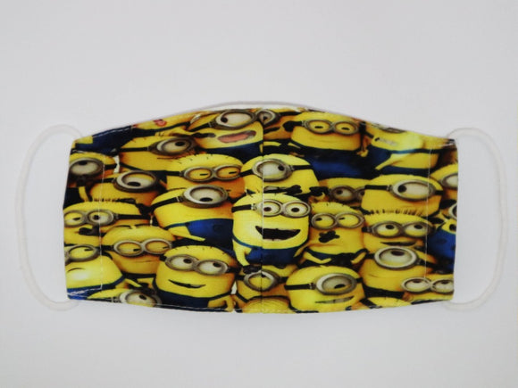 Kids Minion Face Mask
