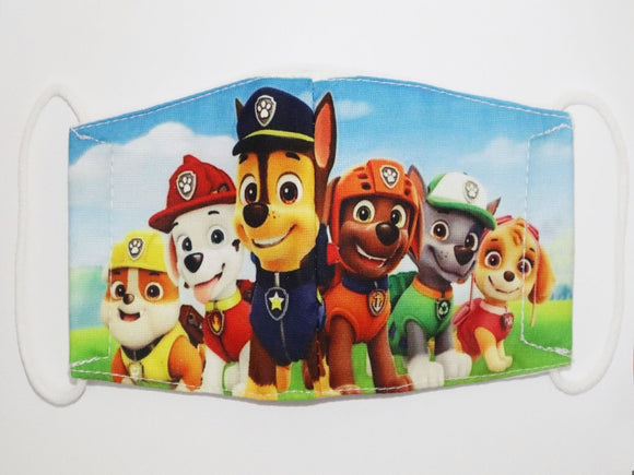 Kids Paw Patrol Face Mask
