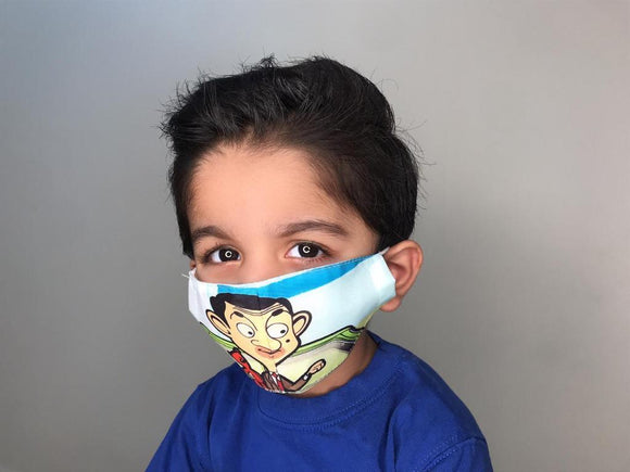 Kids Mr Bean Face Mask