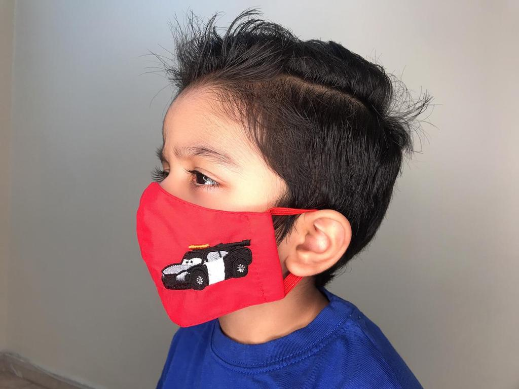 New Kids Embroidery Face Mask