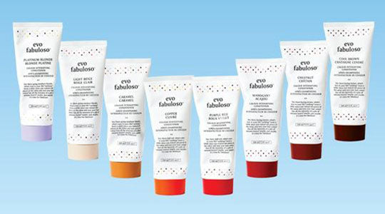 eight white bottles of fabuloso colour boosting treatment